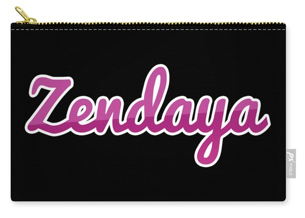 Zendaya #zendaya Carry-all Pouch