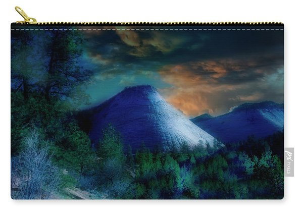 Zion The Great White Throne Carry-all Pouch