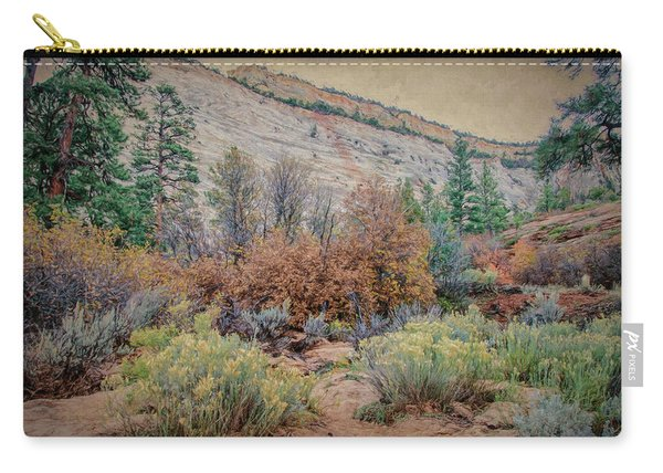 Zions Garden Carry-all Pouch