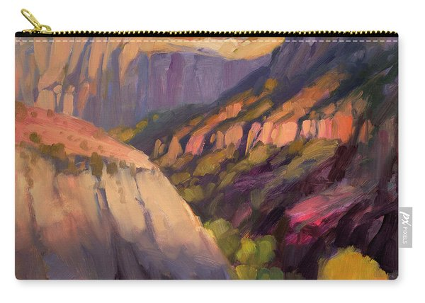 Zion's West Canyon Carry-all Pouch