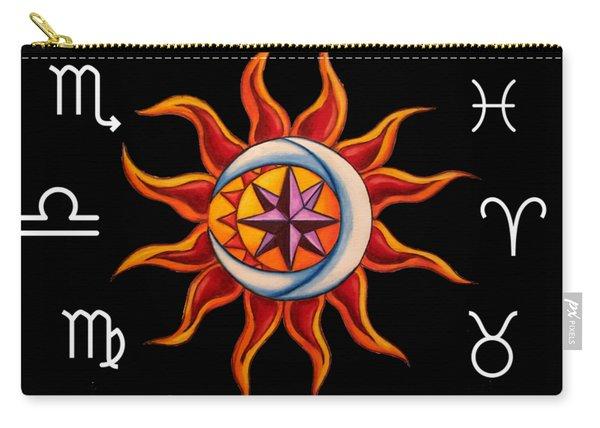 Zodiac Transparent Carry-all Pouch