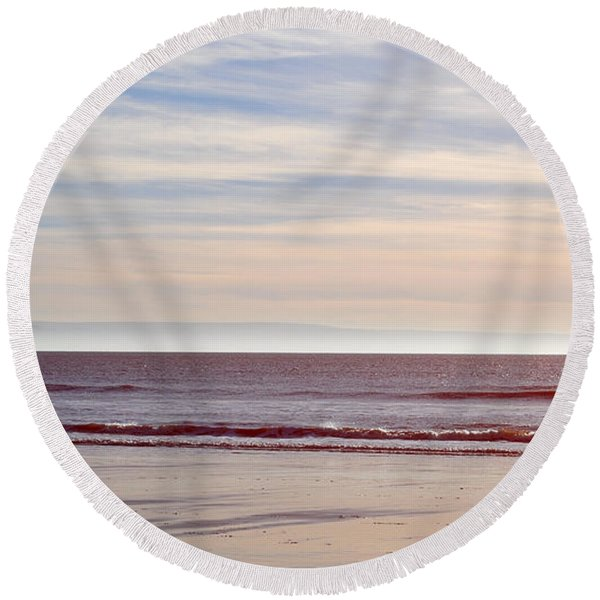 Fine Art Round Beach Towel