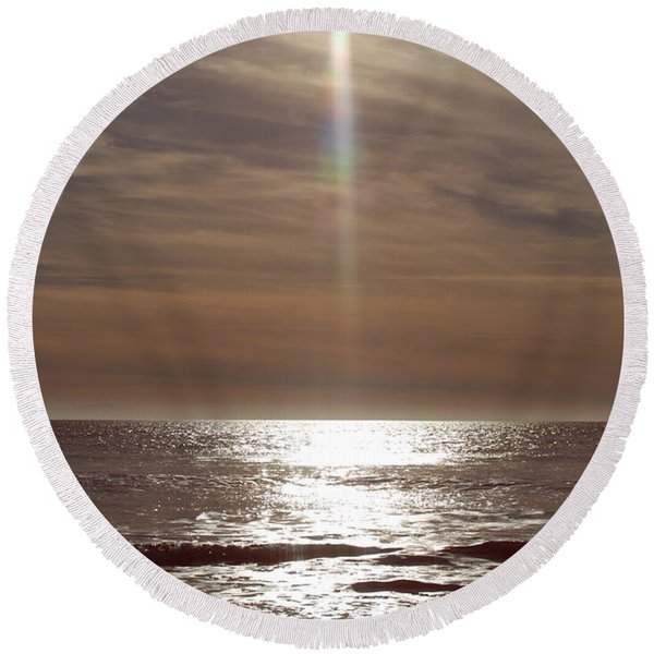 Fine Art Photography Round Beach Towel