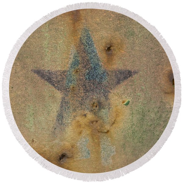 Faded Glory Round Beach Towel