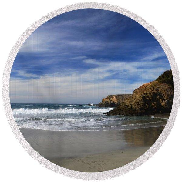 Perfect Day Round Beach Towel