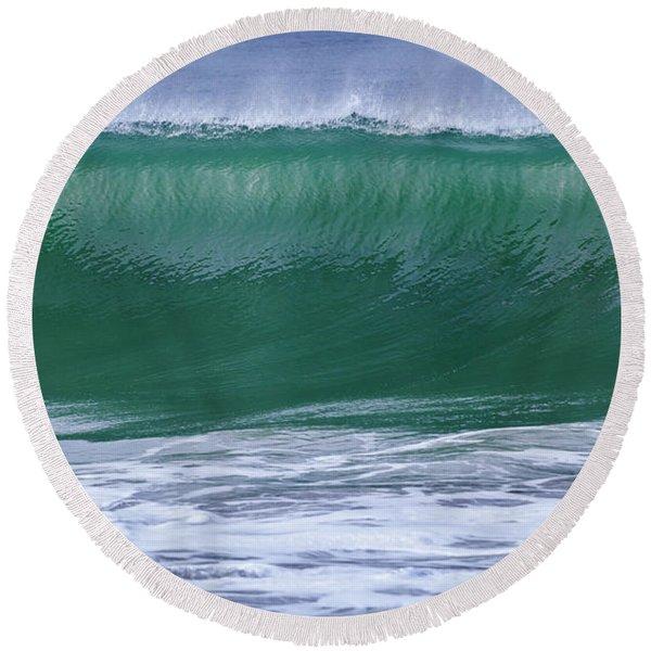Perfect Wave Large Canvas Art, Canvas Print, Large Art, Large Wall Decor, Home Decor, Photograph Round Beach Towel