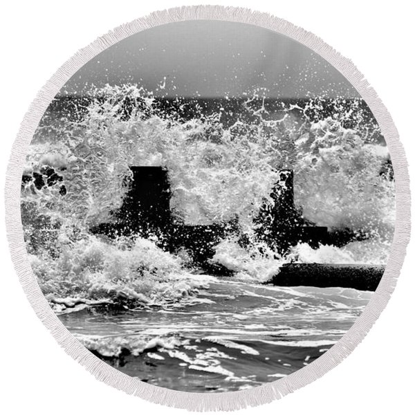 Stone Harbor 211 Round Beach Towel