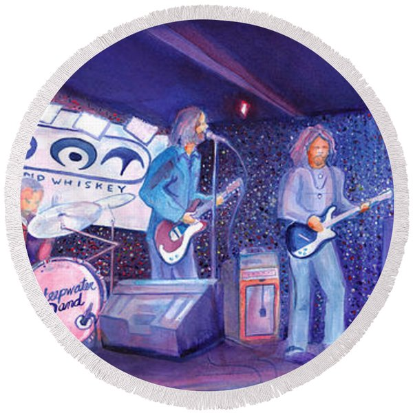 The Steepwater Band Round Beach Towel