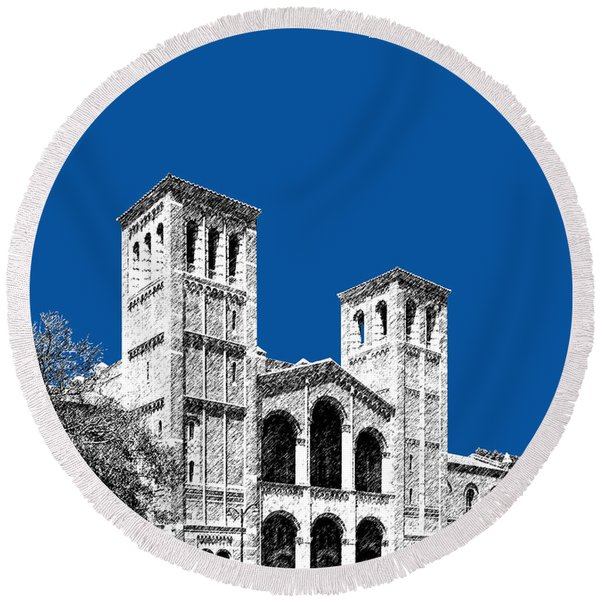 University Of California Los Angeles - Royal Blue Round Beach Towel