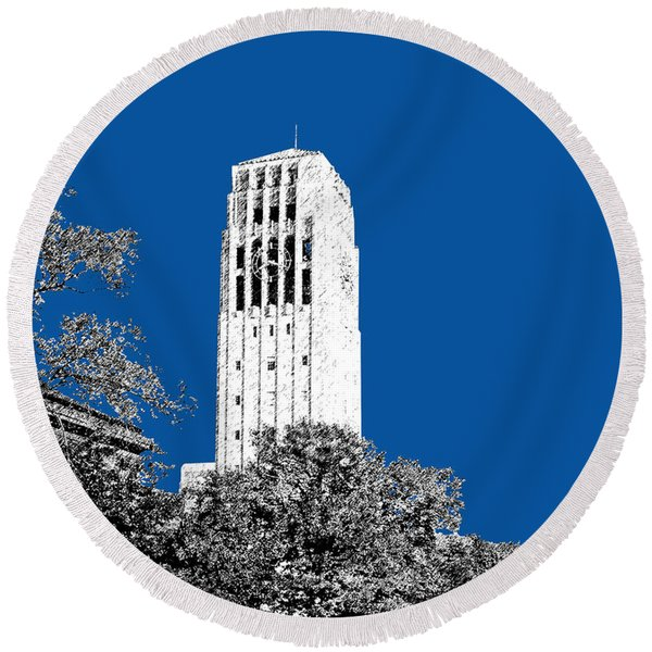 University Of Michigan - Royal Blue Round Beach Towel
