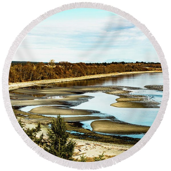 Kye Bay Round Beach Towel