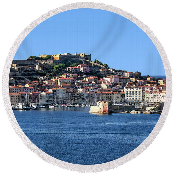 Portoferraio Round Beach Towel