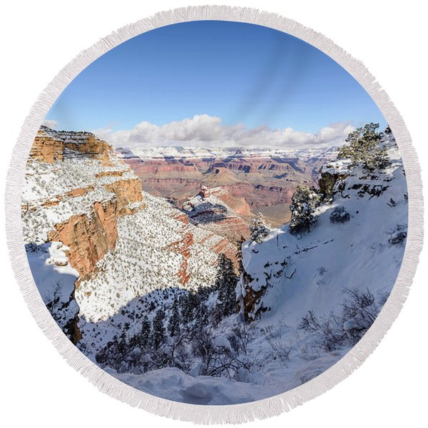 Grand Canyon Round Beach Towel