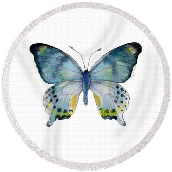68 Laglaizei Butterfly Round Beach Towel