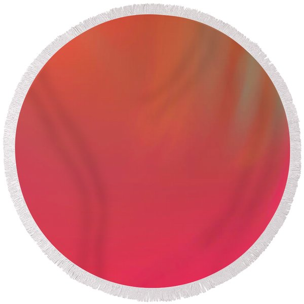 Abstract No. 16 Round Beach Towel