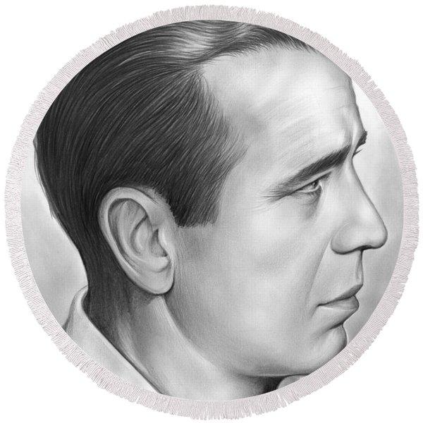 Bogart Round Beach Towel