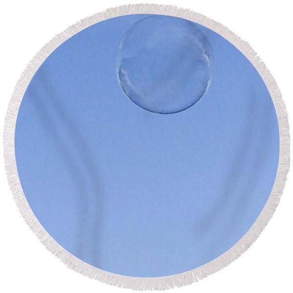 Bubbled Round Beach Towel