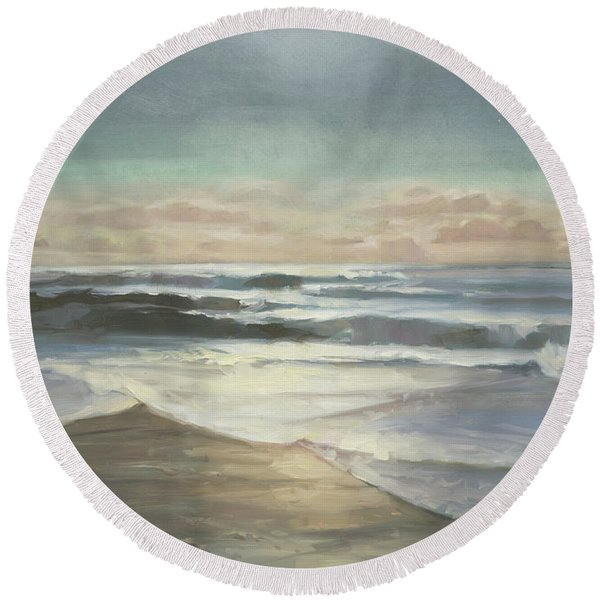By Moonlight Round Beach Towel