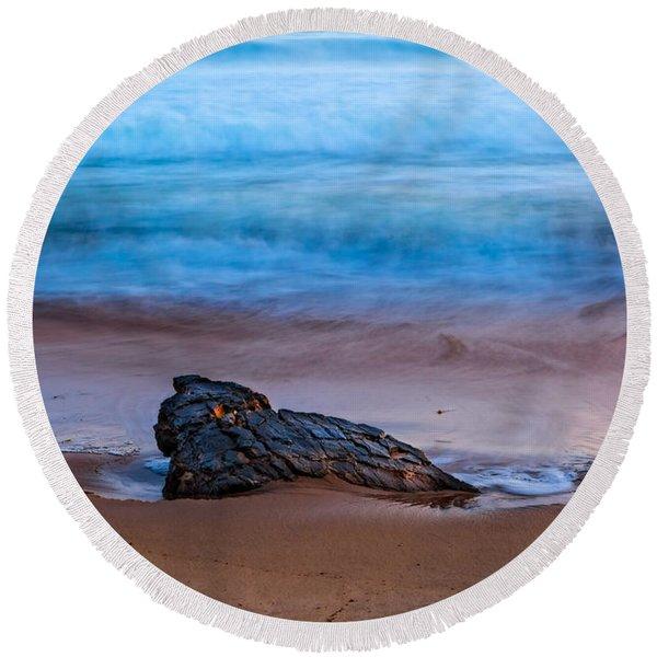 Focus Round Beach Towel
