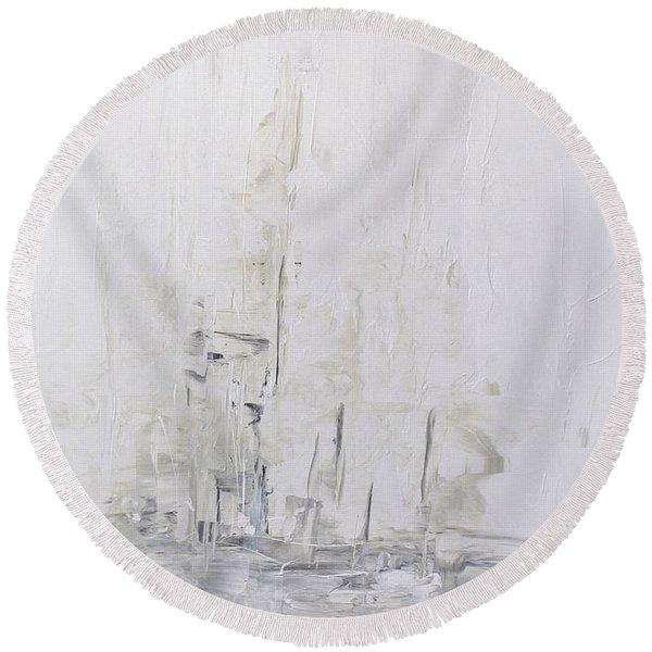 Frost Round Beach Towel