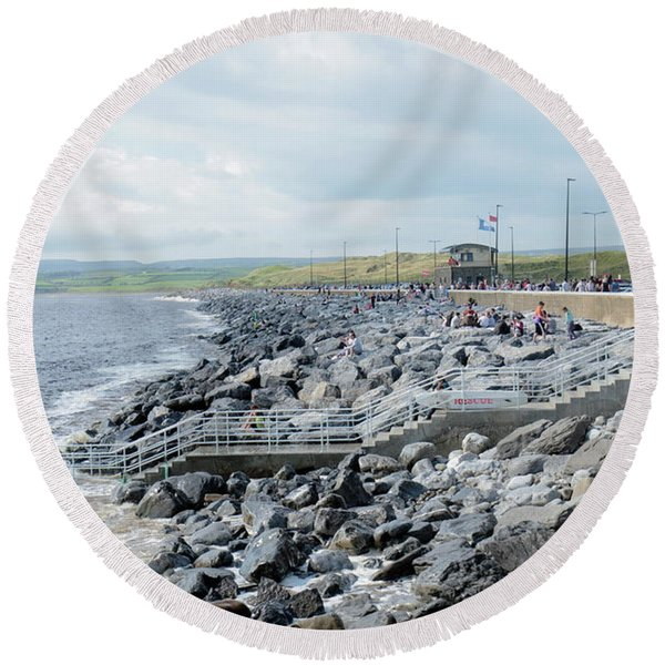 Lahinch Round Beach Towel