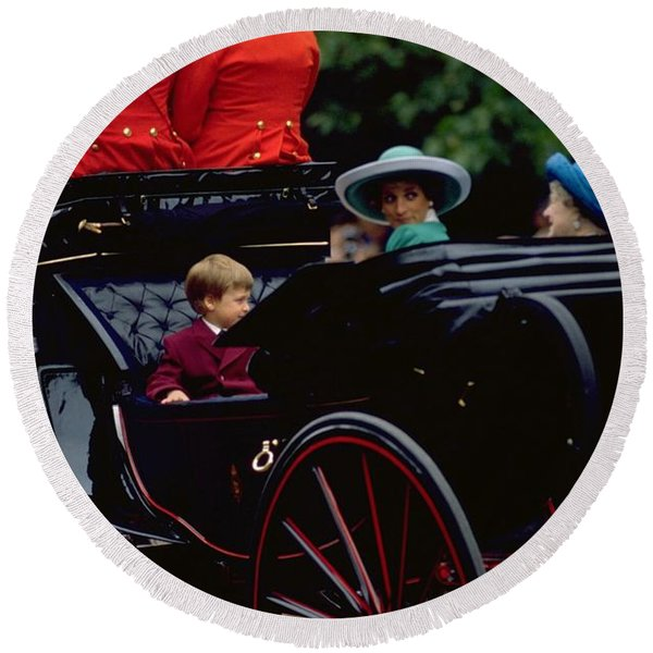 Photograph - Prince William And Princess Diana On The Mall by Travel Pics