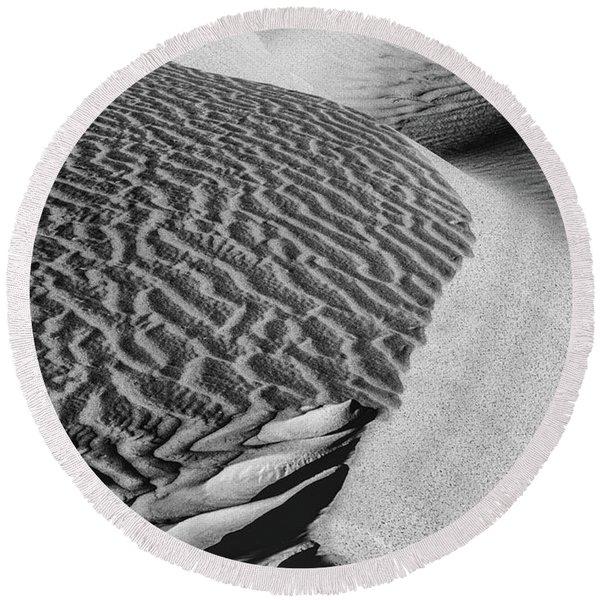 S-s-sand Round Beach Towel