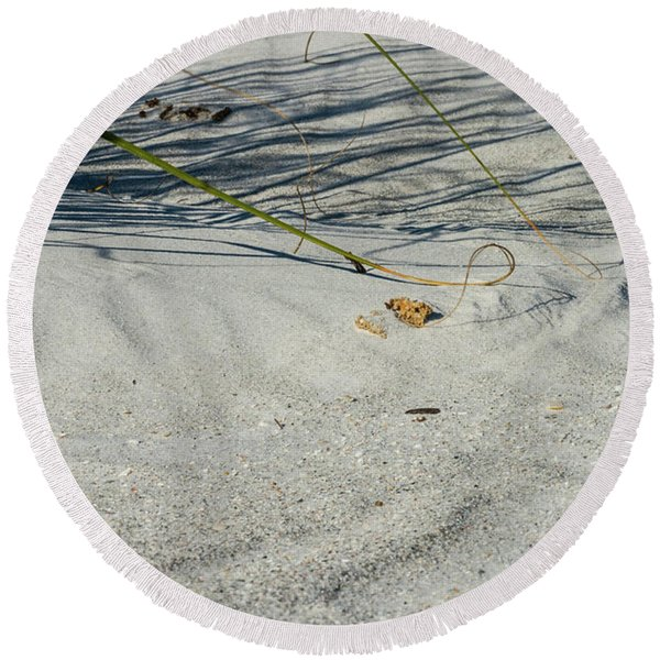 Sandscapes Round Beach Towel