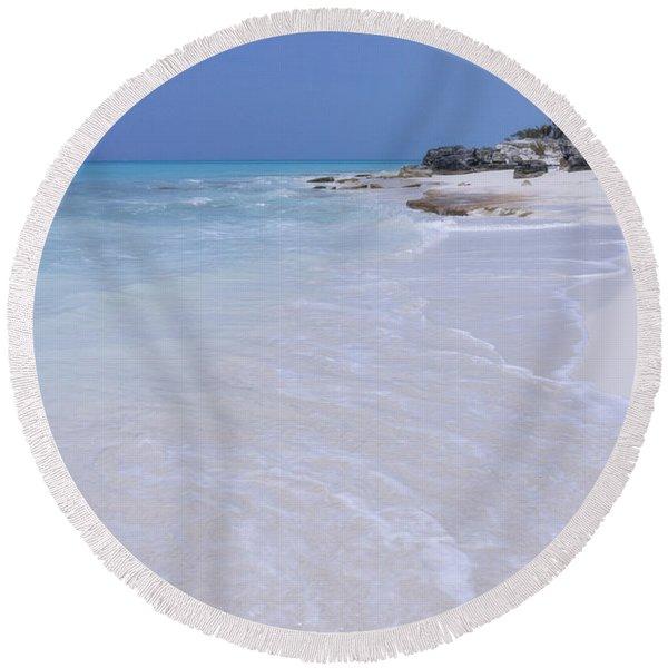 Solitary Round Beach Towel