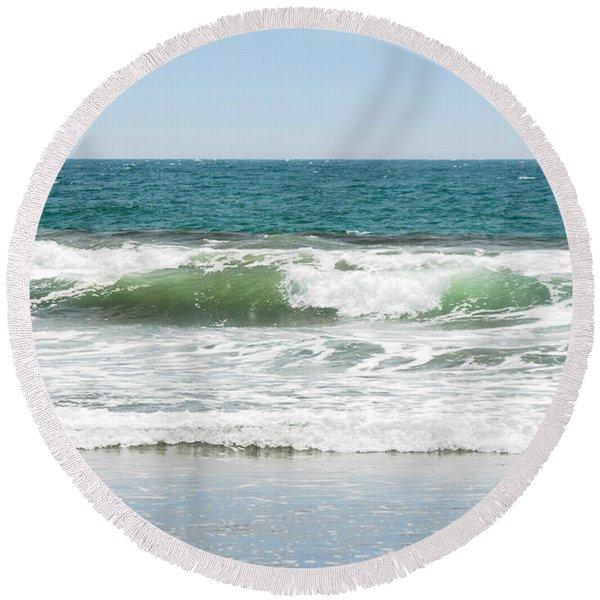Swell Round Beach Towel