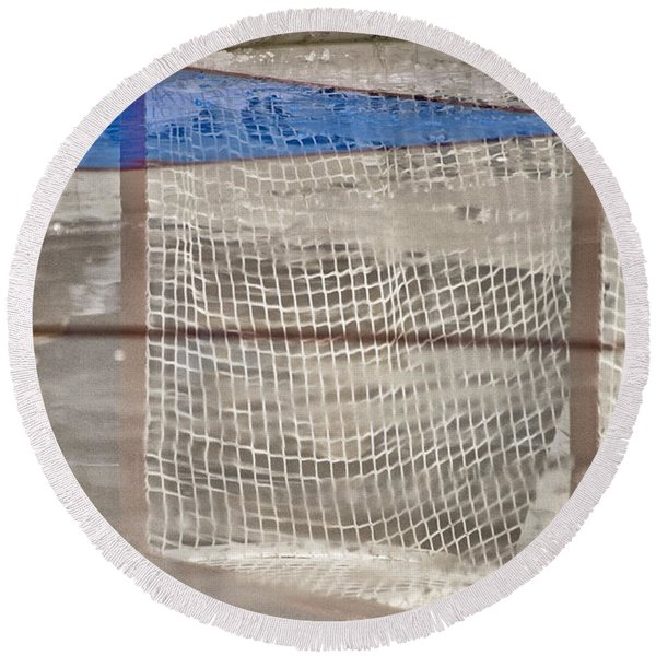 The Net Reflection Round Beach Towel