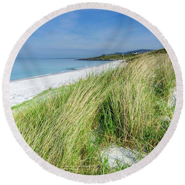 Eriskay Round Beach Towel