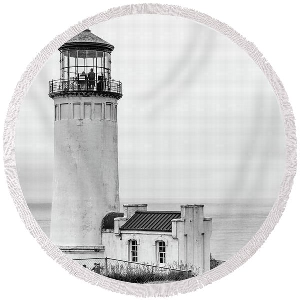 Another Lighthouse Round Beach Towel