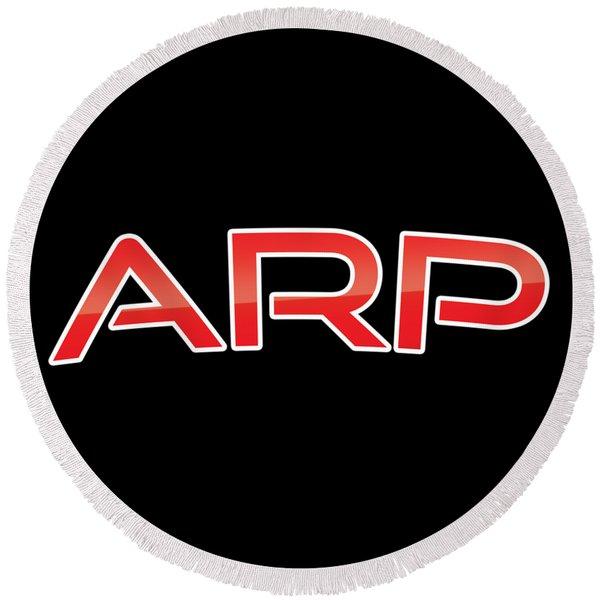 Arp Round Beach Towel
