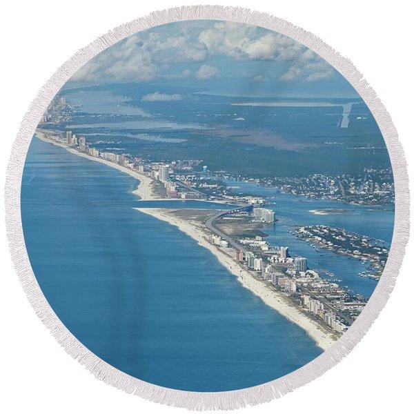 Beachmiles-5137-tm Round Beach Towel