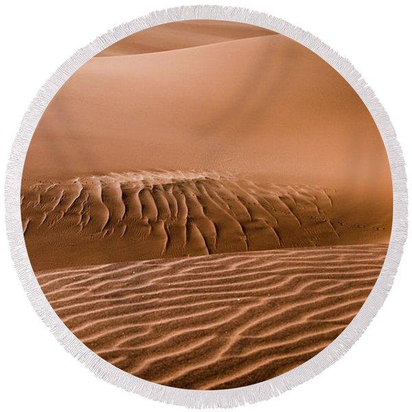 Beautiful Namib Desert 2 Round Beach Towel