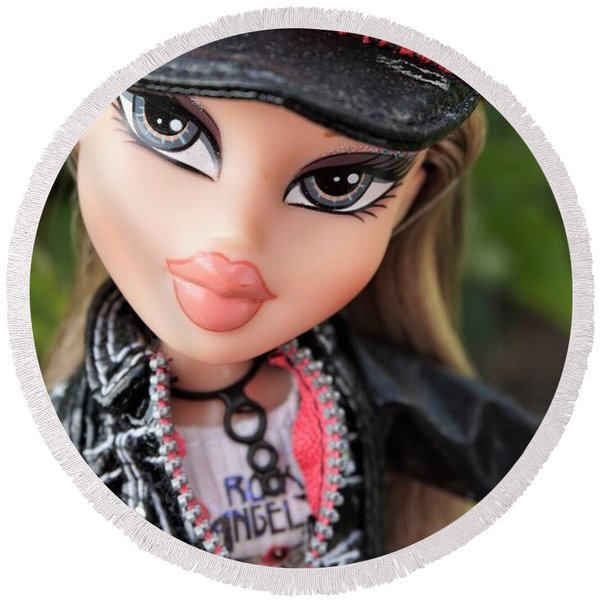 Bratz Rock Angelz Cloe Round Beach Towel