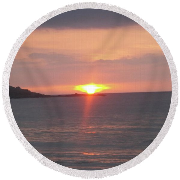 Fine Art Photo 17 Round Beach Towel