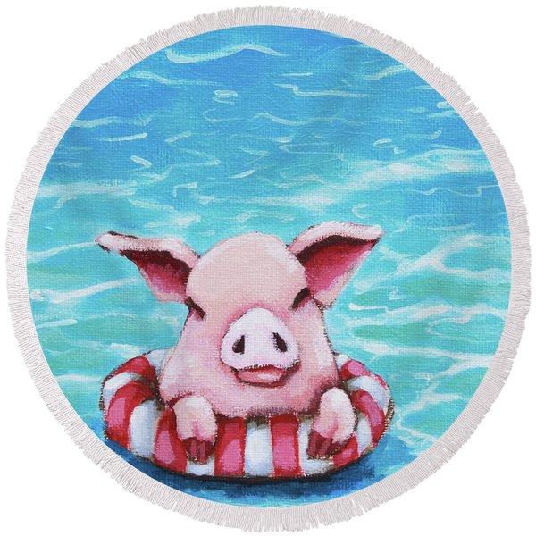 Floating Round Beach Towel