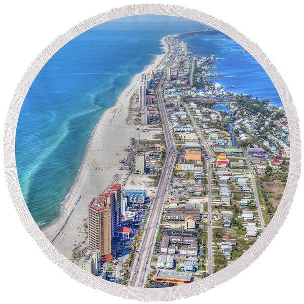 Gulf Shores 7124 Round Beach Towel