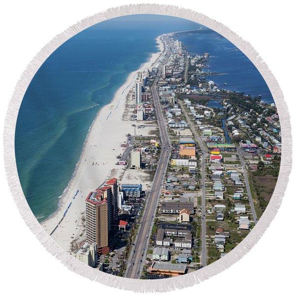 Gulf Shores 7124n Round Beach Towel
