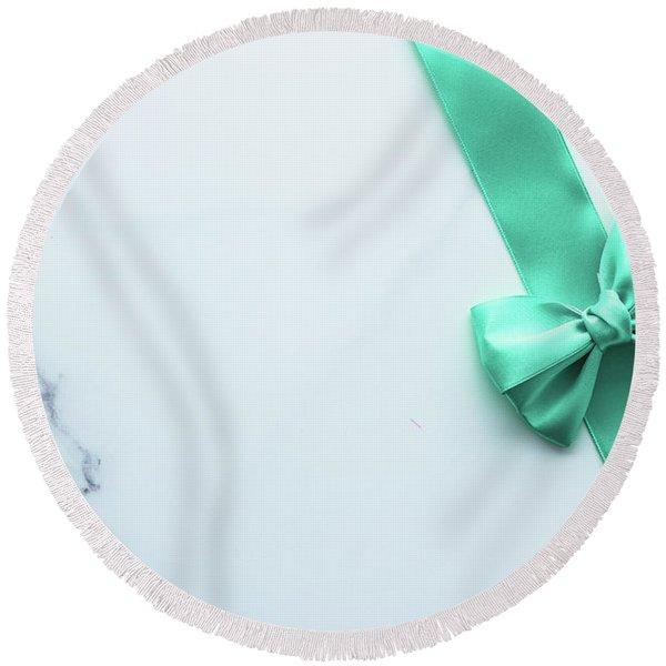 Lovely Gift Iv Round Beach Towel