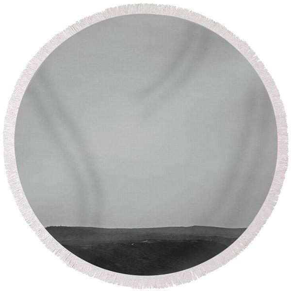 Ocean Memories IIi Round Beach Towel