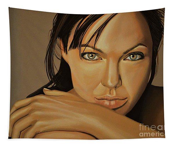 Angelina Jolie 2 Tapestry