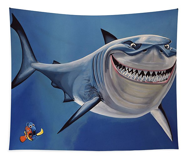Finding Nemo Painting Tapestry