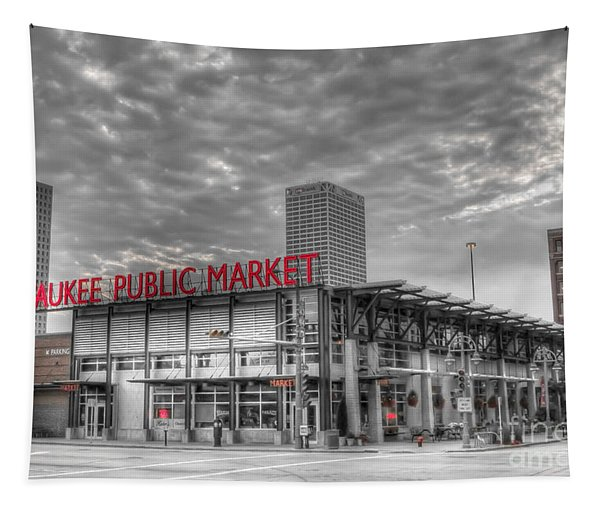 0038 Milwaukee Public Market Tapestry