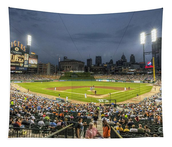 0101 Comerica Park - Detroit Michigan Tapestry