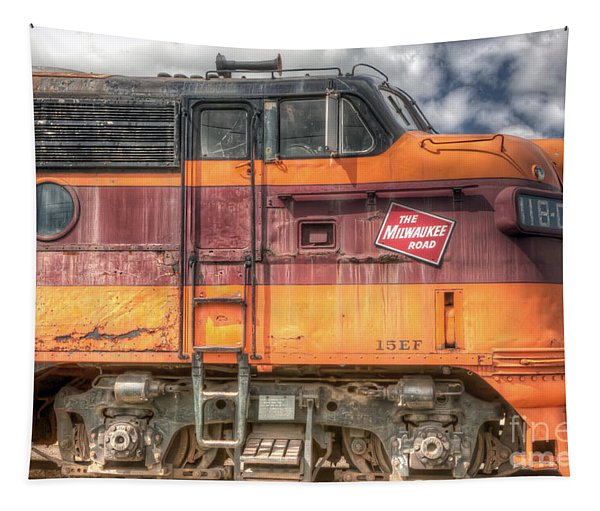 0119 The Milwaukee Road 2 Tapestry