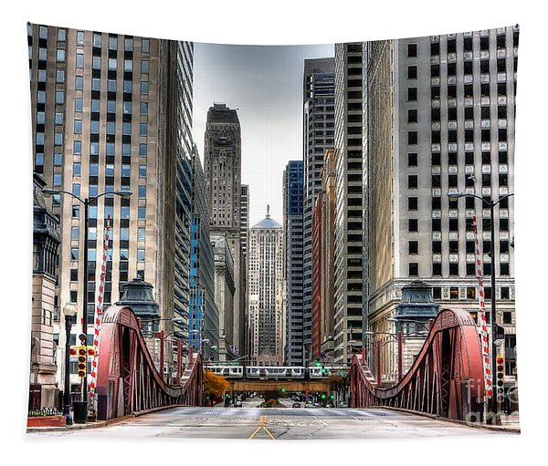 0295b Lasalle Street Bridge Tapestry