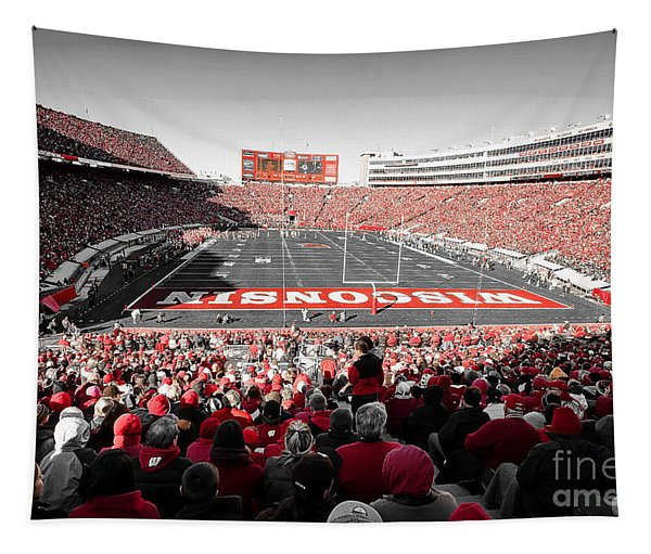 0811 Camp Randall Stadium Tapestry